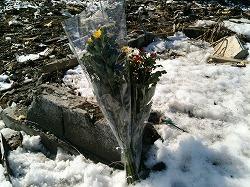 東日本大震災の追悼集会及び合同捜索訓練を岩手で行いました。
