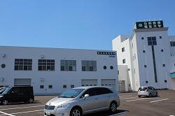弘前医療福祉大学短期大学部(救急救命学科)の実習棟で訓練と見学会を行いました(弘前市)。