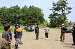 災害救助犬岩手と合同訓練を行いました(青森市田茂木野山中)。