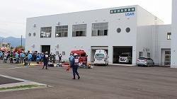 平成26年度緊急消防援助隊北海道東北ブロック合同訓練に参加しました(弘前市)。