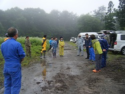 岩手県で開催の災害救助犬の練習会に参加しました。