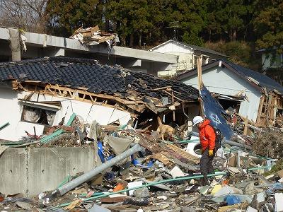 岩手県釜石市箱崎町で、再度行方不明者の捜索活動(第3回)を行いました。