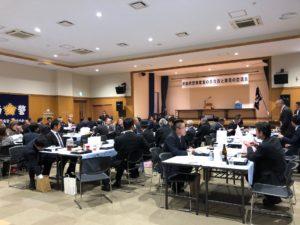 青森南警察官友の会の交流会に参加しました(青森市浪岡)。