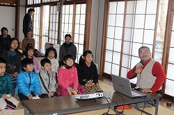三戸郡新郷村で災害救助犬・捜索犬のデモンストレーションを行いました。