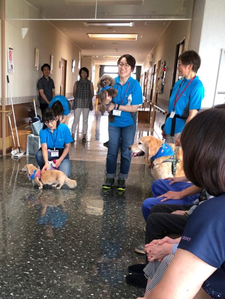 グループホーム「いこい」でセラピー活動を行いました(南津軽郡藤崎町)。