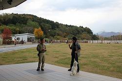 家庭犬のしつけ方講座(講師:山下國廣)に参加しました(青森県動物愛護センター)。