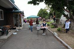 イヌヒトくらすの1周年イベントでデモンストレーションを行いました(青森市浪岡)。