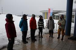 雪中捜索訓練を行いました(青森県動物愛護センター)。