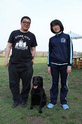 日本警察犬協会の訓練試験に3頭合格しました(イヌヒトくらす)。