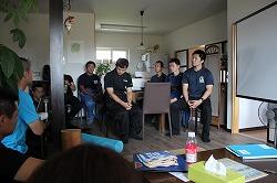 青森県救助救護検討会と勉強会を開催しました(青森市浪岡)。