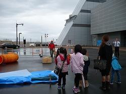 青森県子ども防災推進大会に参加しました(県観光物産館アスパム)。