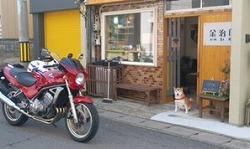 募金箱を「あさむし温泉プリン金次郎」の店舗内に設置していただきました(青森市)。